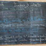 Vendredi 24 September 2021 – Belle fête aux Thècle !  Happy Birthday to Lea S. (CE2)